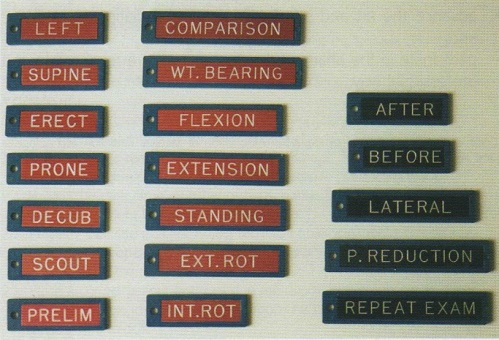 Beberapa Contoh Marker Tambahan yang Biasa Digunakan